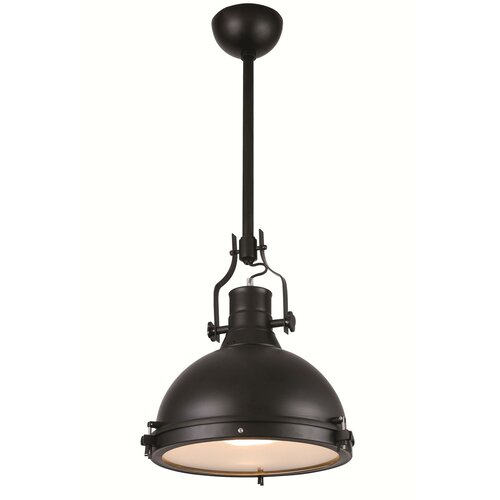 Industrial Mini Pendant Light: Elegant Lighting Industrial 1 Light Mini Pendant & Reviews