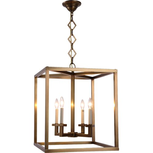 Elegant Entryway Lighting : Elegant lighting jackson light foyer pendant reviews