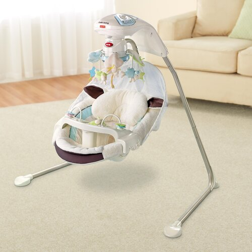fisher price my little lamb cradle and swing review