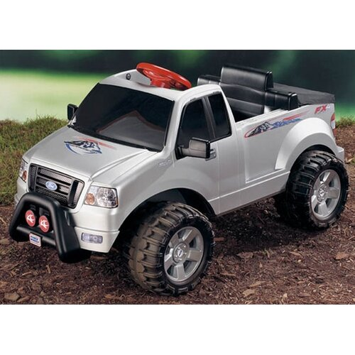 fisher price power wheels ford f 150 6v battery powered car reviews wayfair. Black Bedroom Furniture Sets. Home Design Ideas