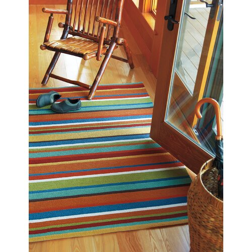 Company C Cabana Orange Stripe Area Rug Amp Reviews Wayfair