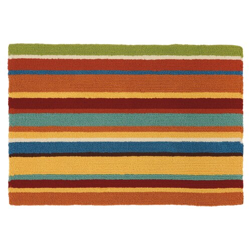 Company C Cabana Orange Stripe Area Rug Amp Reviews Wayfair