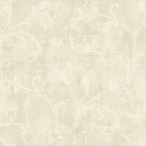 windermere penelope 27 39 x 27 scroll distressed wallpaper