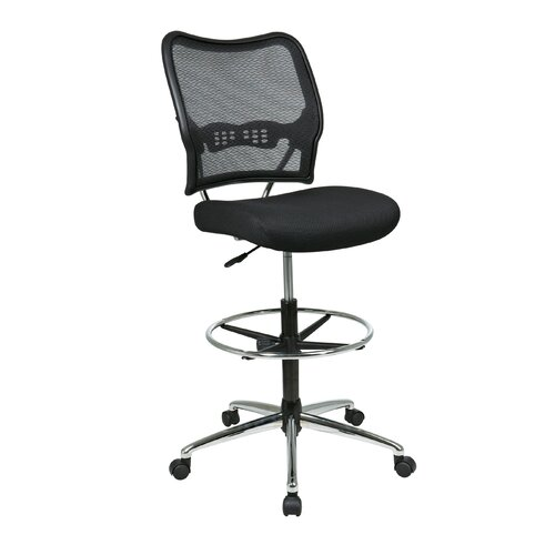 Office Star Height Adjustable Drafting Chair With Footring Reviews Wa