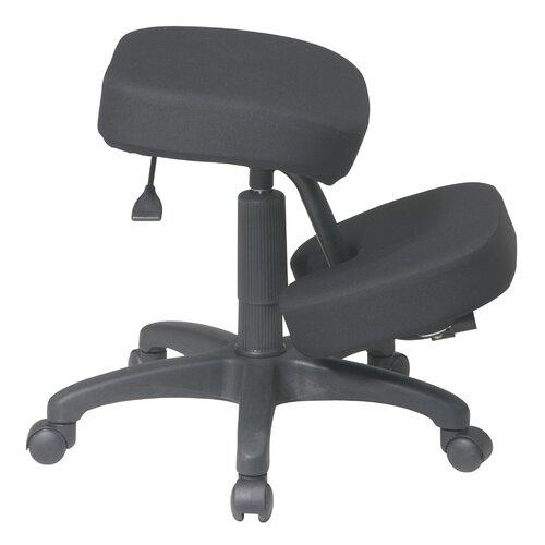 Office Star Low-Back Ergonomically Designed Kneeling Chair