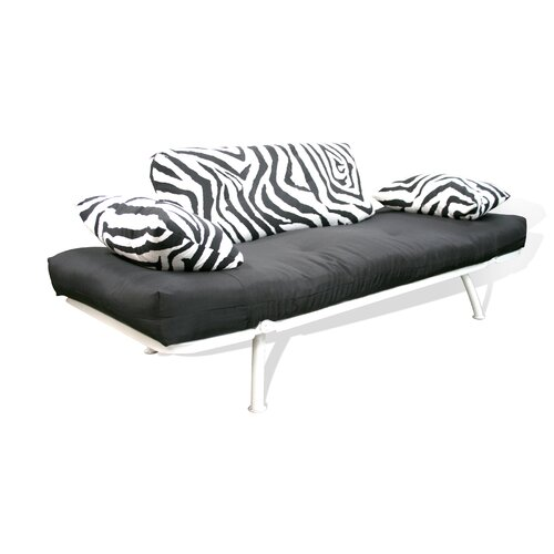 Flex Zebra Sofa Cushion Combo Futon