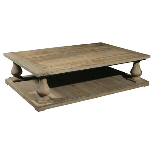 Baluster coffee table wayfair for Furniture classics ltd coffee table