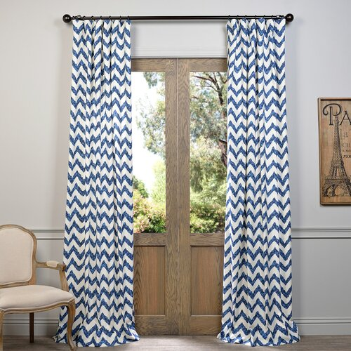 Half price drapes calipso single curtain panel reviews for Calipso singles