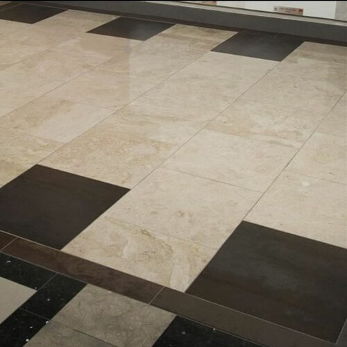 """Ms International Cappuccino 12 In X 12 In Polished: MSI 18"""" X 18"""" Marble Field Tile In Crema Cappuccino"""