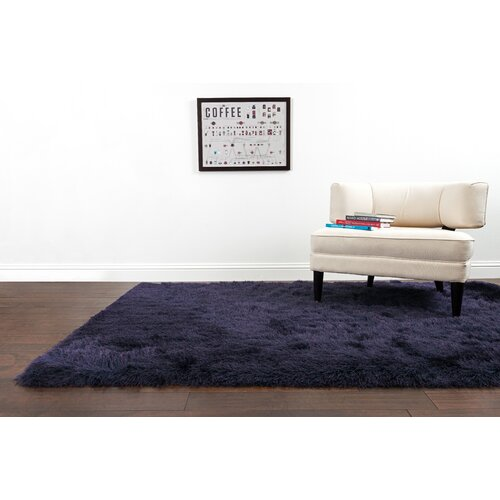 Loloi Rugs Allure Shag Aubergine Area Rug & Reviews