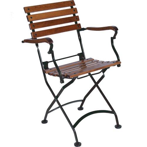 European Caf Folding Dining Arm Chair Wayfair