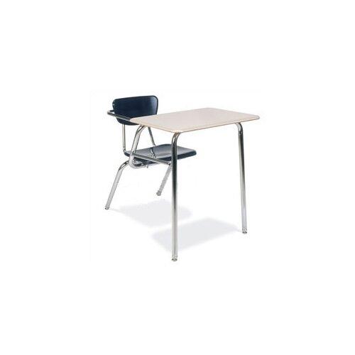 "Virco 3000 Series 29"" Laminate Combo Chair Desk"