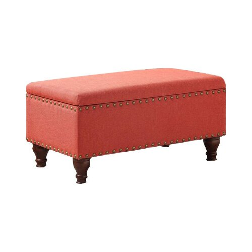 HomePop Filander Upholstered Storage Bench
