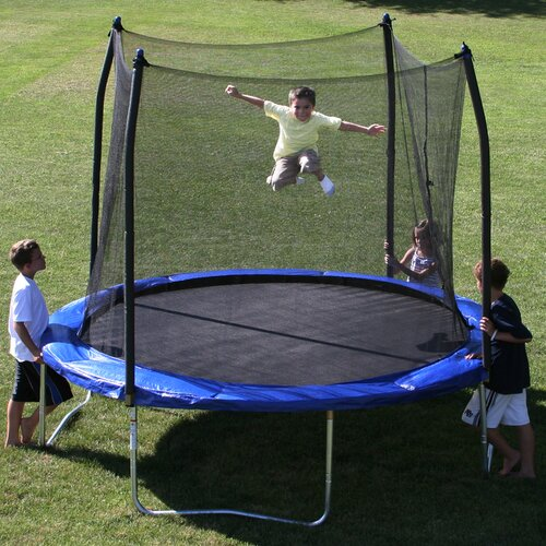Skywalker 15 Trampoline With Safety Enclosure Reviews: Skywalker 10' Round Trampoline With Safety Enclosure