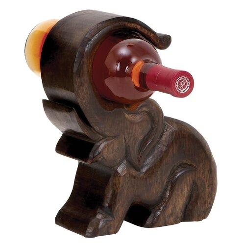 Uma enterprises happy elephant wine holder reviews wayfair - Elephant wine bottle holder ...