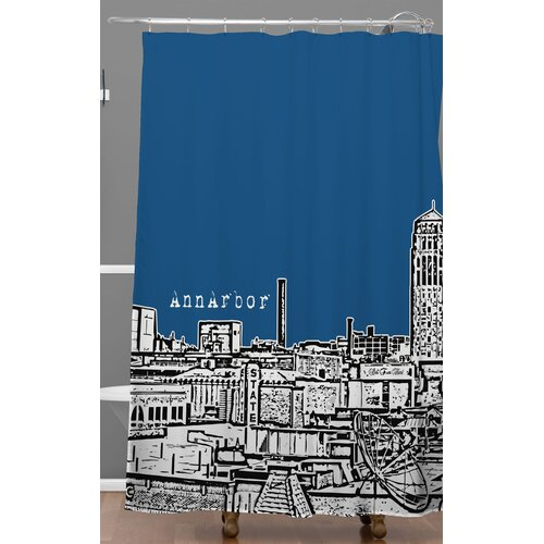DENY Designs Bird Ave Ann Arbor Shower Curtain