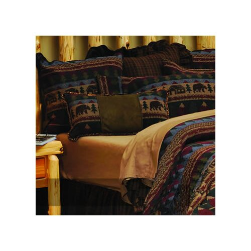 Wooded River Cabin Bear Bedspread Collection Amp Reviews