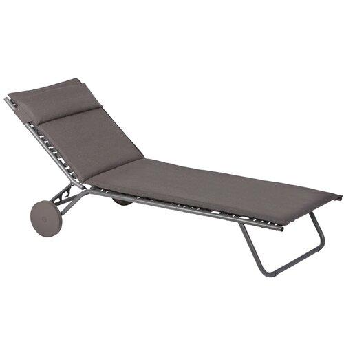 Miami privilege chaise lounge wayfair - Chaise camping lafuma ...