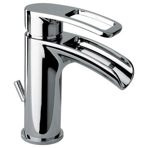 Single Handle Waterfall Bathroom Faucet : Jewel Faucets Single Handle Single Hole Lavatory Faucet with Waterfall ...