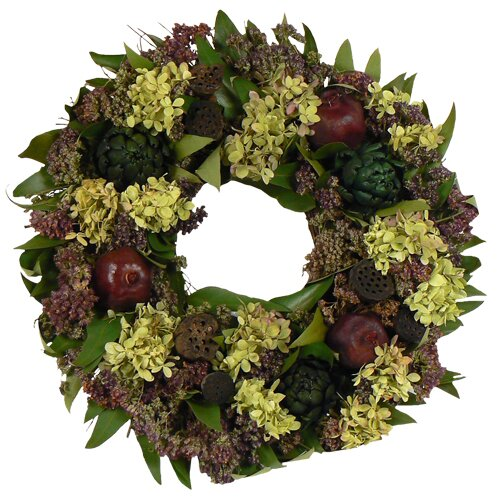 Urban Florals Forest Pine Wreath Amp Reviews Wayfair