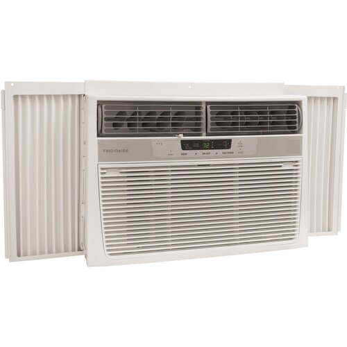 Frigidaire 12 000 btu window mounted compact air for 12 000 btu window air conditioner with heat