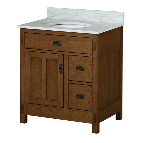 american craftsman 30 quot bathroom vanity base wayfair