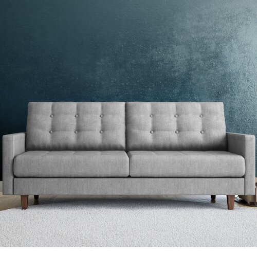 Aeon furniture euro home sandy tufted settee reviews for Sofa 50 euro