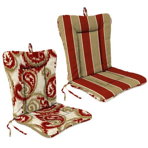 Jordan Manufacturing Outdoor Adirondack Chair Cushion Reviews Wayfair