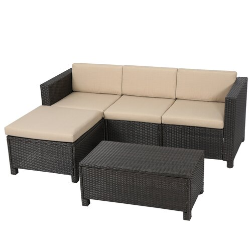 Home Loft Concept Dinah 5 Piece Seating Group With