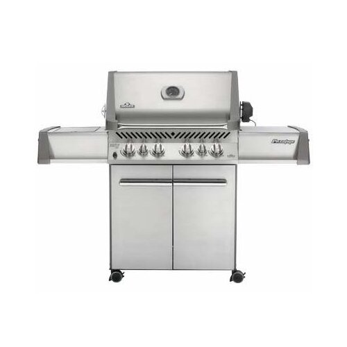Dyna Glo 79 000 Btu 5 Burner Natural Gas Grill With Side