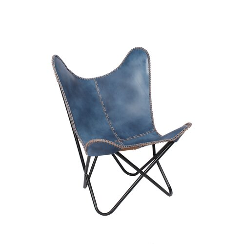 Fashion N You Leather Butterfly Lounge Chair & Reviews