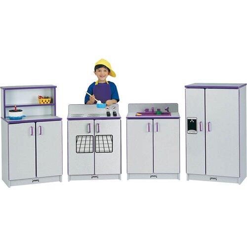Jonti-Craft 4 Piece Kitchen Set