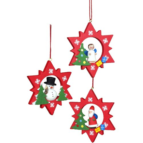 Religious Christmas Ornament Assortment: Assorted Stars Ornament