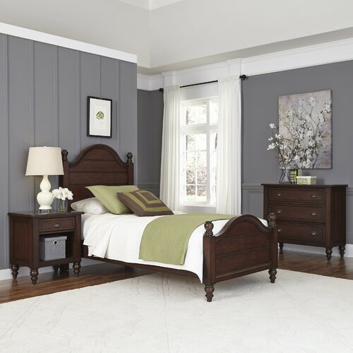Country Comfort Panel 3 Piece Bedroom Set Wayfair
