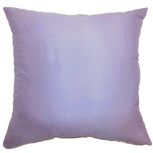 Plain Decorative Pillow : The Pillow Collection Desdemona Plain Silk Throw Pillow & Reviews Wayfair