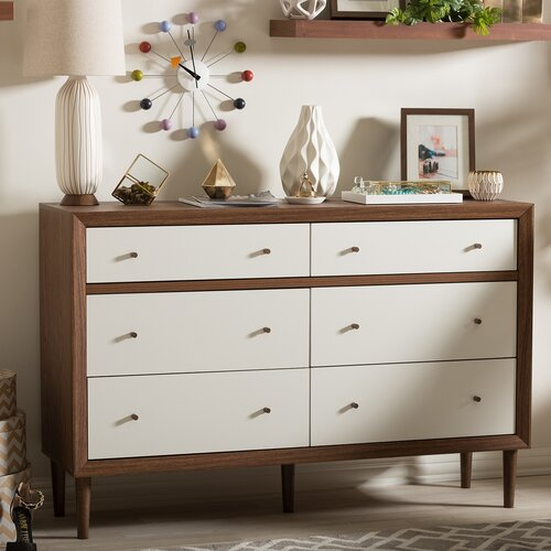 Wholesale Interiors Harlow 6 Drawer Dresser Amp Reviews
