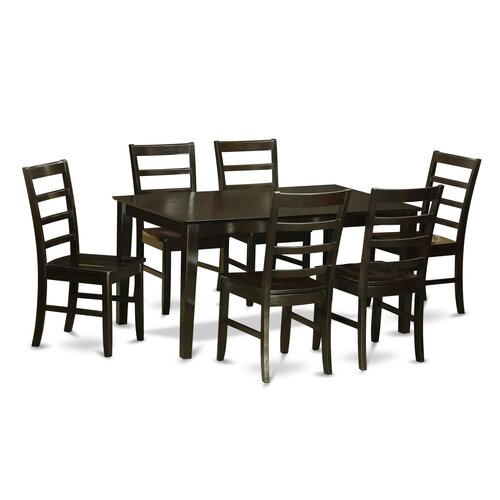 52 Kitchen Tables And Chairs Sets 7 Pc Dining Room: Capri 7 Piece Dining Set