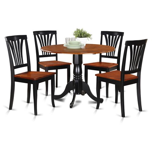 dublin 5 piece dining set wayfair