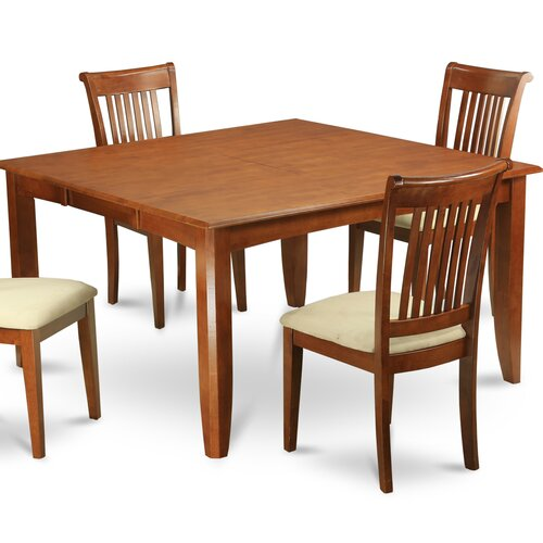 Wooden Importers 3 Piece Dining Set Reviews: Wooden Importers Parfait 9 Piece Dining Set & Reviews