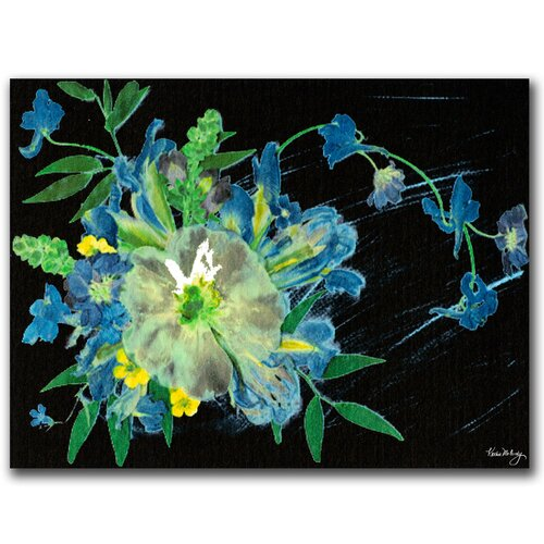 'Meteor Shower' by Kathie McCurdy Painting Print on Canvas by Trademark Art