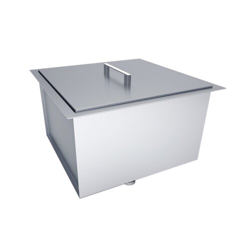 Outdoor Kitchen Over / Under Basin Sink With Cover