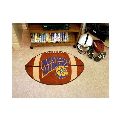 NCAA Western Illinois University Football Mat