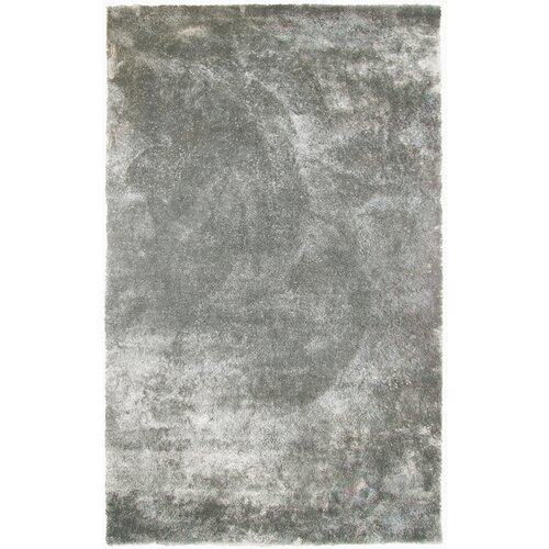 Fur Silver Shag Area Rug