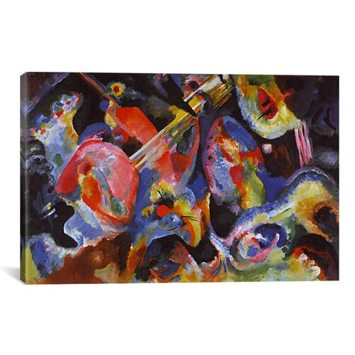 Flood Improvisation by Wassily Kandinsky Painting Print on Canvas by