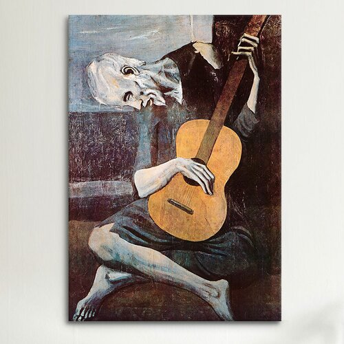 ICanvas 'The Old Guitarist' By Pablo Picasso Painting
