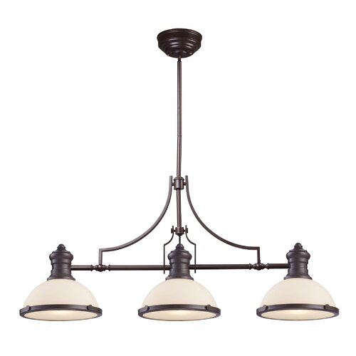 Orly 3 Light Kitchen Island Pendant