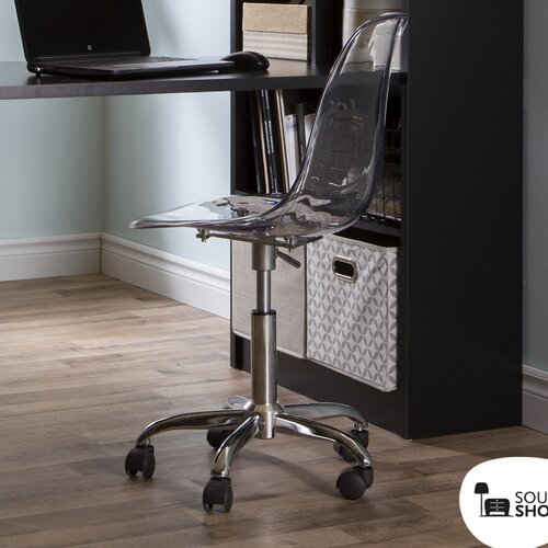 South Shore Acrylic Office Chair Amp Reviews Wayfair