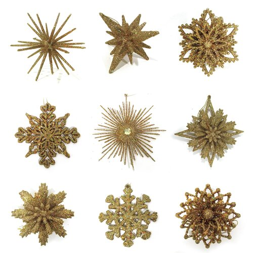 Snowflake Finisher 25 Piece Ornament Set by Brite Star