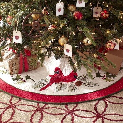 Cardinal Tree Skirt 44