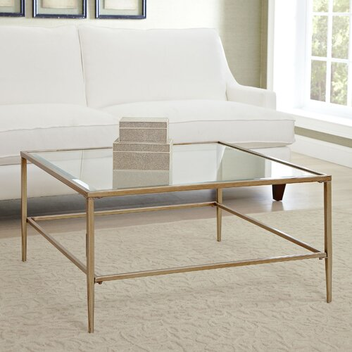 Birch Lane Nash Square Coffee Table & Reviews
